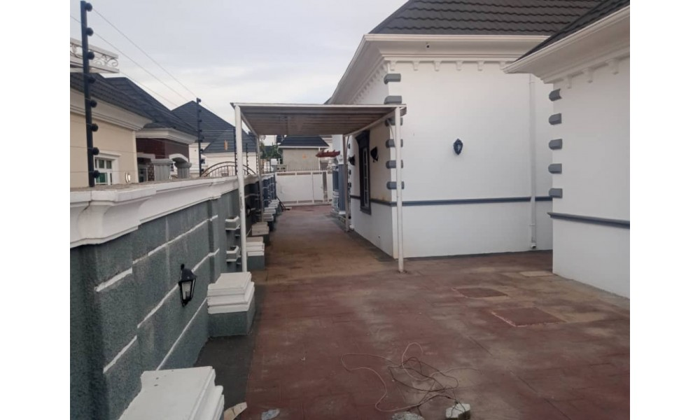 3 Bedroom Bungalow with 2 Room Bq Gwarimpa